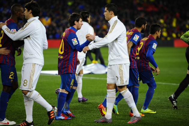 Lionel Messi, Cristiano Ronaldo and La Liga's Non-Spanish Starting XI