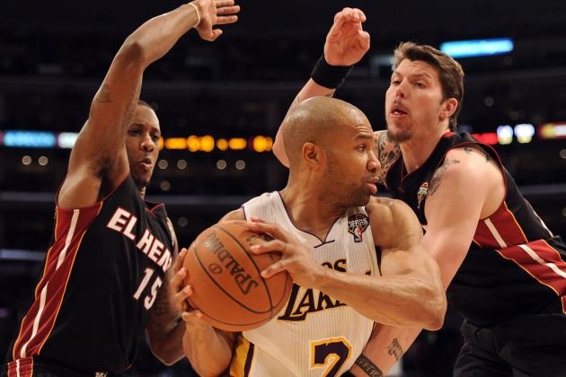 Top 8 Moments of Derek Fisher's L.A. Lakers Career