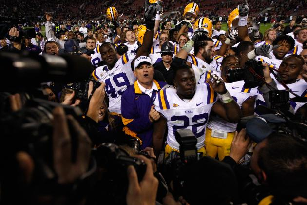 LSU Football 2012: Best Big Cat Drill Encounters This Spring