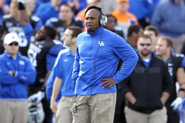 Kentucky Football:  5 Big Questions Heading into Spring Practice