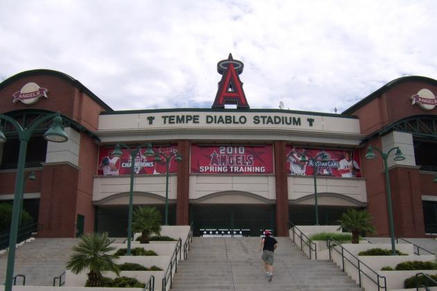Los Angeles Angels Report: Ranking the Best Prospects from Spring Training