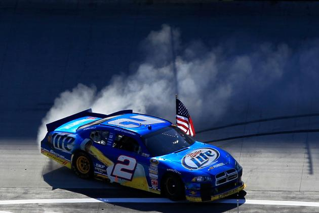 Brad Keselowski Makes  Some Noise in This Week's NASCAR Power Rankings