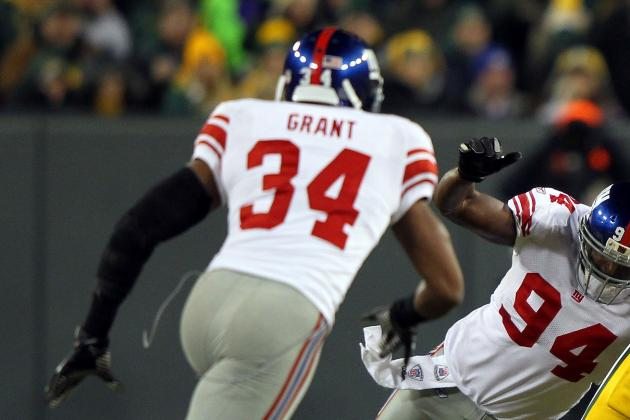 New York Giants: 5 Key Veterans Who'll Take a Back Seat in 2012