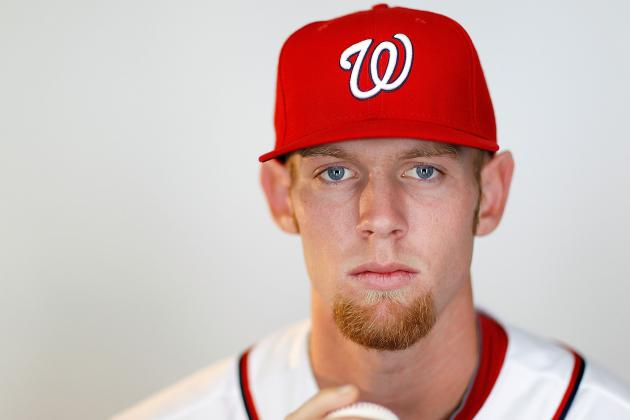 Stephen Strasburg and 4 Other Young Starters with Innings Limits in 2012