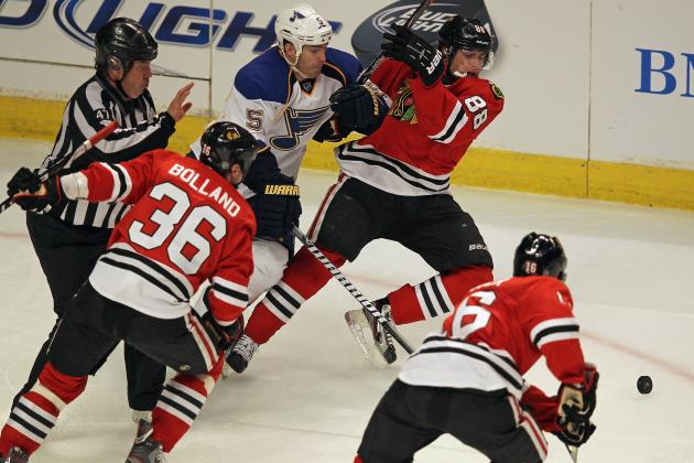 Chicago Blackhawks: 4 Most Important Games Left in Season