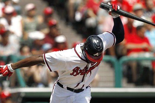 Atlanta Braves: Bad Omens from 2012 Spring Training