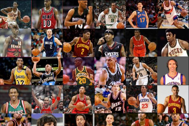64 One-on-One NBA Legends vs. Current Stars March Madness Tourney, PG Edition