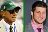 New York Jets:  Tim Tebow and Joe Namath, How Do They Match Up?