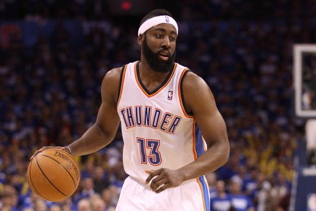 NBA Sixth Man of the Year Award: James Harden and the Top Five Candidates
