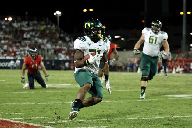 LaMichael James', Other Top Pac-12 Stars' Teams Predicted for 2012 NFL Draft