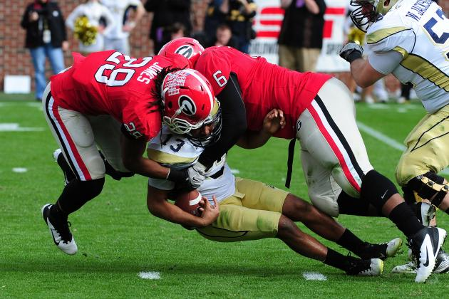 SEC Football 2012: Ranking the Conference's Top 25 Linebackers