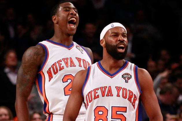 NBA Power Rankings: Teams Whose Starters Can't Beat the New York Knicks' Bench