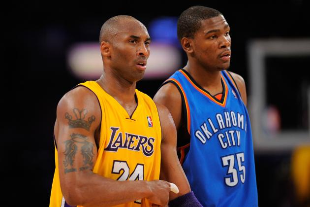 Lakers vs. Thunder: 10 Reasons Kobe Still Has the Edge over Durant