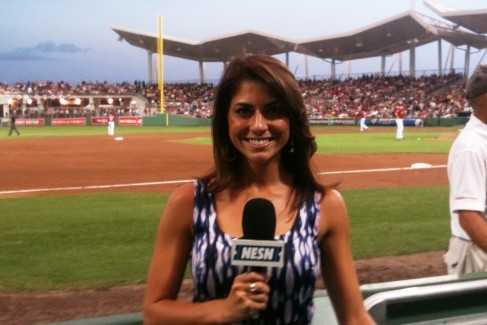 Boston Red Sox: Jenny Dell's TV Debut as Heidi Watney's Replacement