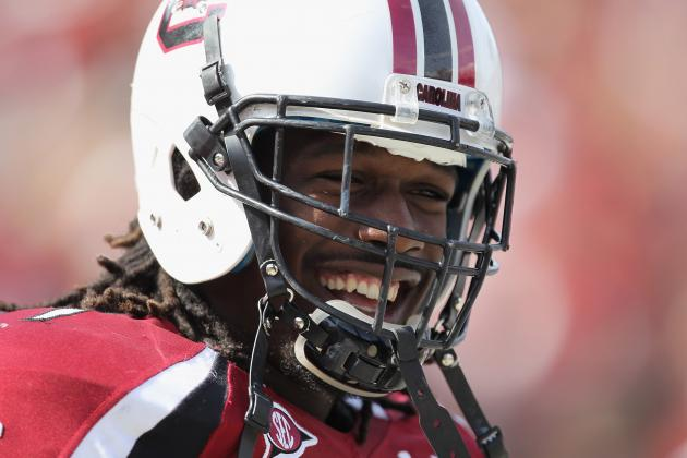 South Carolina Football: The Gamecocks' 5 Most Intimidating Players