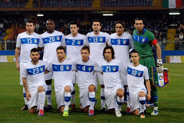 Euro 2012 Countdown: Italy Capable of Being a Major Player at Euros