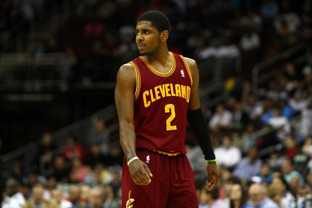 Kyrie Irving's 10 Most Electrifying Plays of Rookie Season with Cavaliers