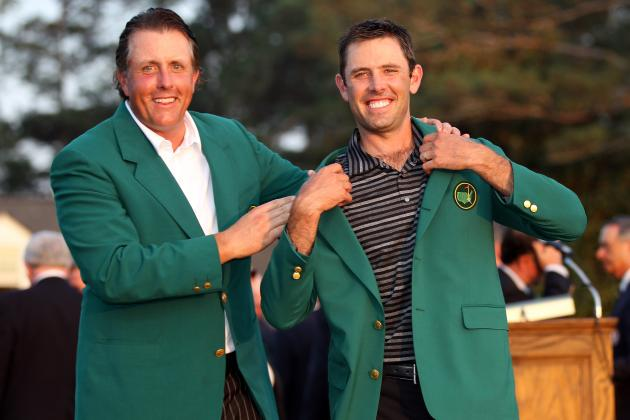 Masters 2012: Top 10 Dark Horse Winners in Augusta History