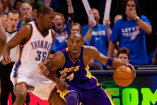 Power Ranking Kobe Bryant, Kevin Durant and Every NBA Team's MVP