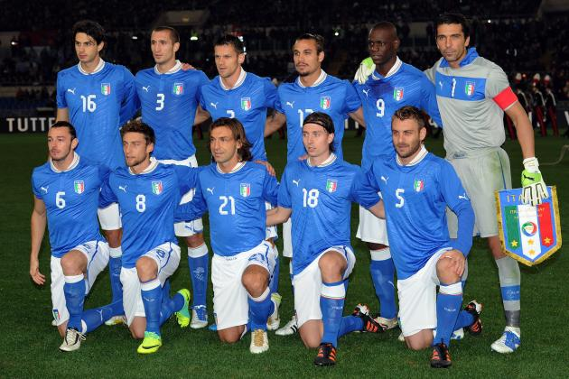 Predicting the Starting XI for Italy at Euro 2012