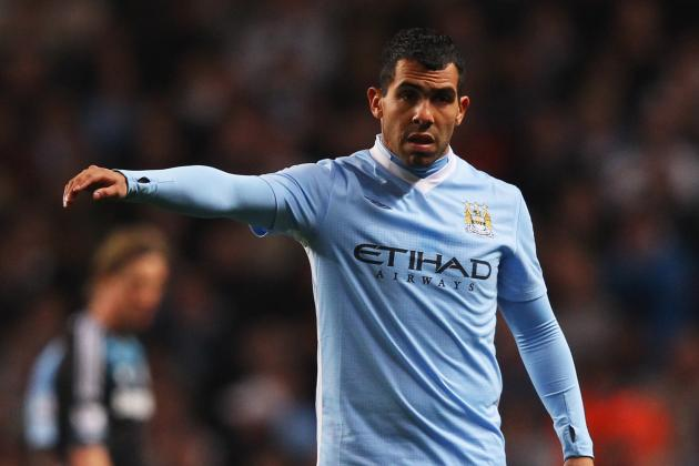 Carlos Tevez's Manchester City Career so Far