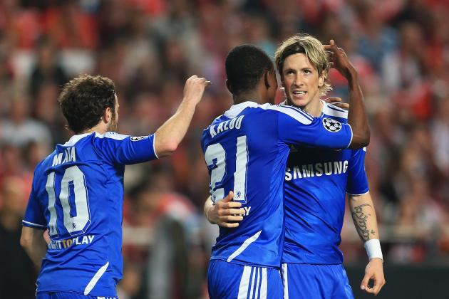 Chelsea 1-0 Benfica: Chelsea's Top 10 Performances in the Champions League