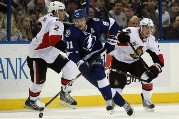 NHL: Steven Stamkos Scores No. 54 and 55 to Pad Rocket Richard Lead (Video)
