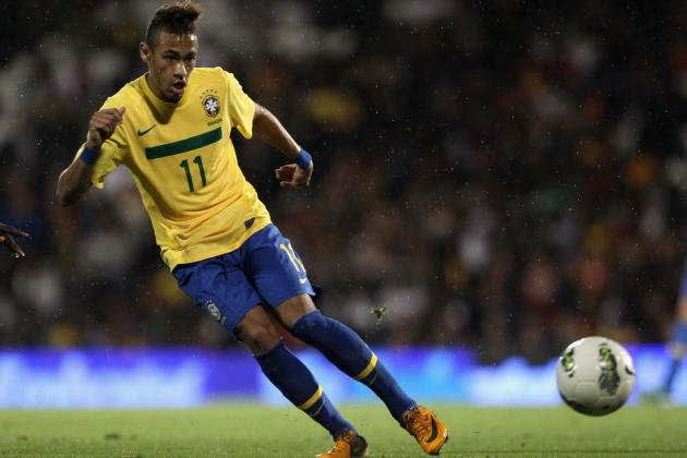 Neymar and the Top 10 Young World Football Players Under 21