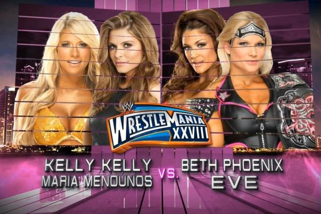 WWE WrestleMania 28: 5 Twists and Turns the Divas Tag Match Could Take