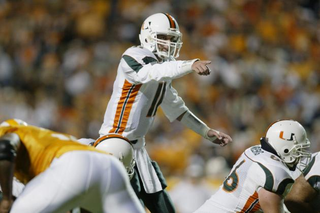 Miami Hurricane  Football: The 10 Best Quarterbacks in School History