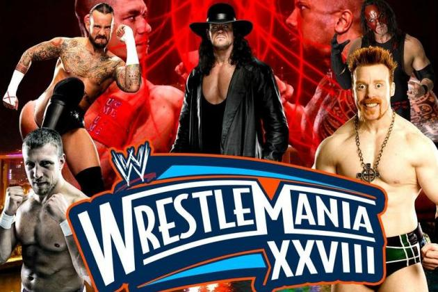 WrestleMania 28: Preview and Predictions from Bleacher Report's Evolution
