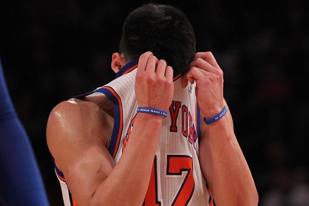 Jeremy Lin: 5 Reasons Knee Injury Spells End to Linsanity