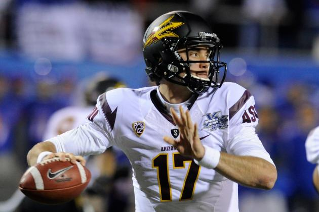 2012 NFL Draft: 4 Realistic Expectations for Arizona State QB Brock Osweiler