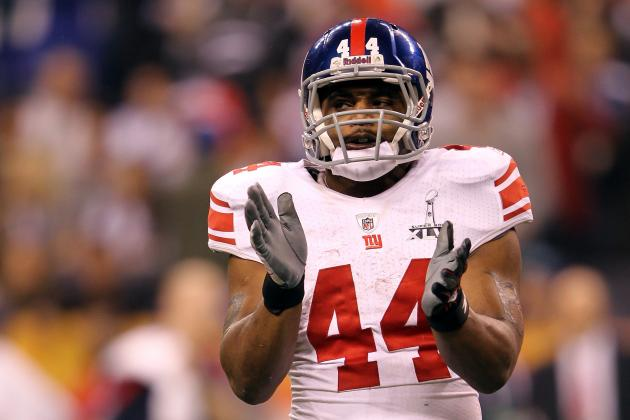 New York Giants: 5 Options at Running Back with Ahmad Bradshaw Sidelined