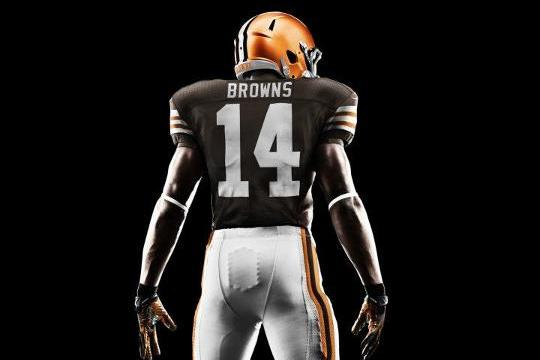 Cleveland Browns Nike Uniforms: Grading New Home and Away 2012 Jerseys