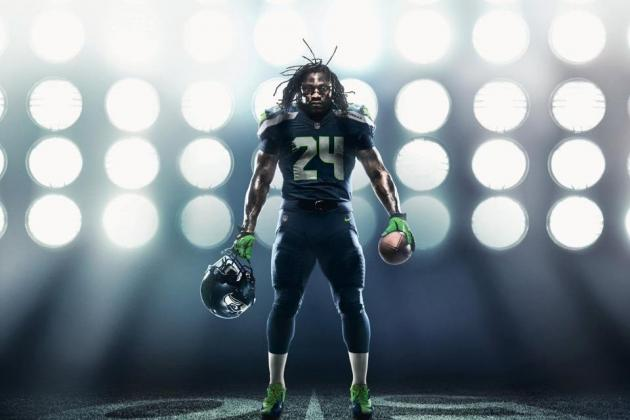 Seahawks Nike Uniforms: Grading Seattle's New Home and Away 2012 Jerseys