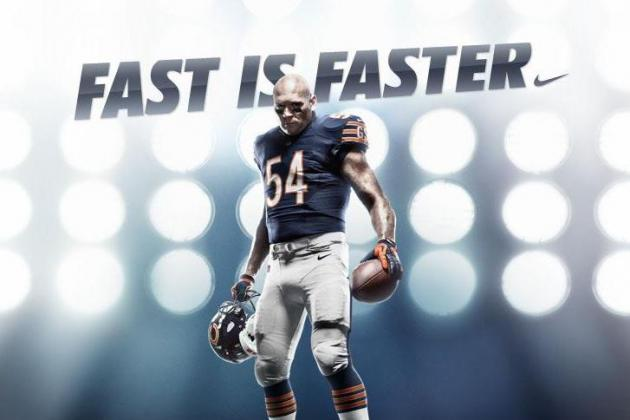 Chicago Bears Nike Uniforms: Grading New Home and Away 2012 Jerseys