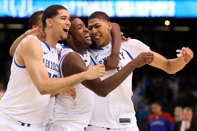 Anthony Davis and the Kentucky Wildcats: Five NBA Teams They Could Beat Today