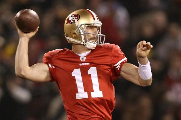 San Francisco 49ers: 5 Reasons Alex Smith Will Go Off in 2012