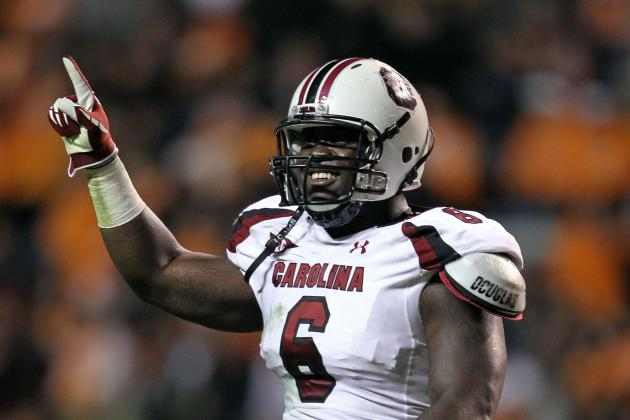 NFL Draft 2012: Melvin Ingram and Top SEC Players Rising Up Draft Boards