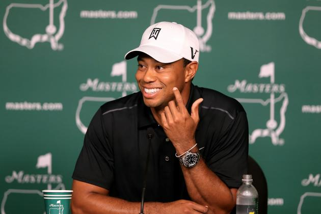 Tiger Woods: Last-Second Predictions for Augusta Performance