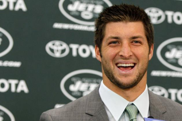 New York Jets: 3 Bold Predictions for Tim Tebow's First Season