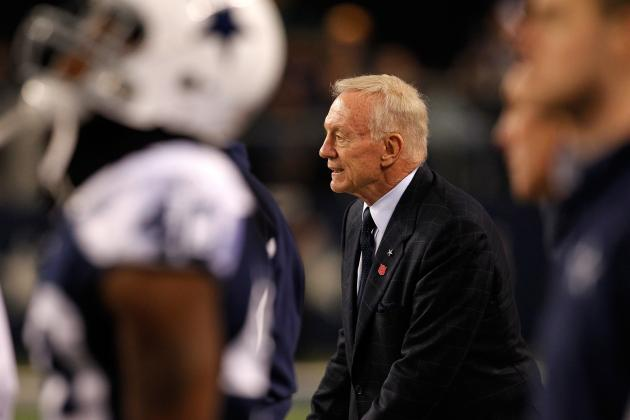 Dallas Cowboys Mock Draft: Reaches Jerry Jones Could Make in All 7 Rounds