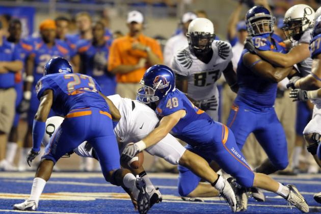 5 Best Spring Football Battles at Boise State