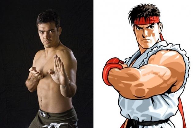 UFC Fighters and Their Fighting Game Alter Egos