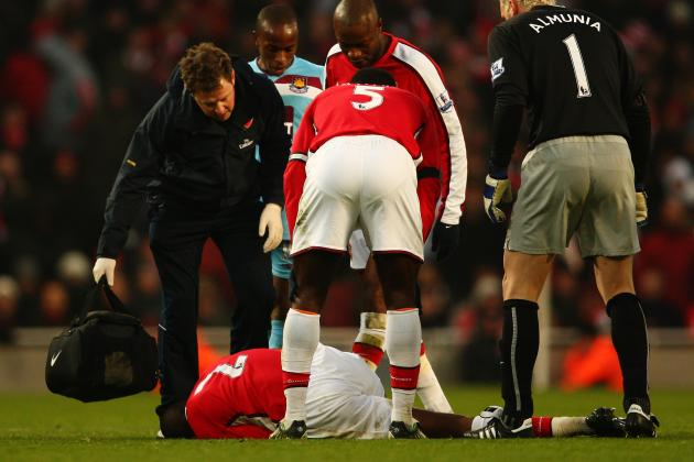 Arsenal: Chronicling Abou Diaby's Major Injuries at the Club