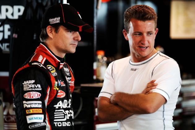 10 NASCAR Drivers Jeff Gordon's Bad Luck Really Hurts