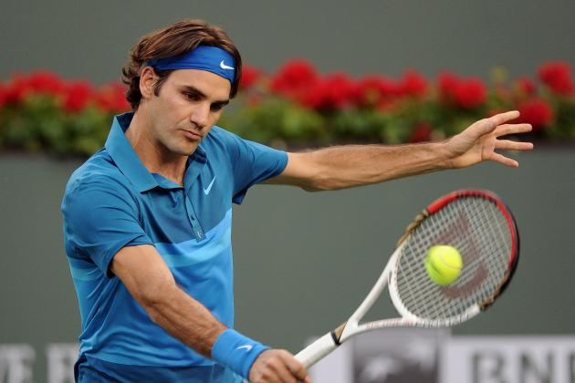 Roger Federer and the 5 Greatest One-Handed Backhands in Men's Tennis History
