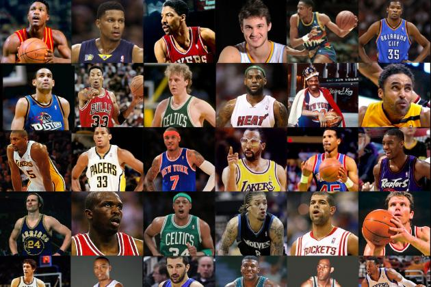64-Player One-on-One NBA Legends vs Today's Stars Tourney: Small Forward Edition