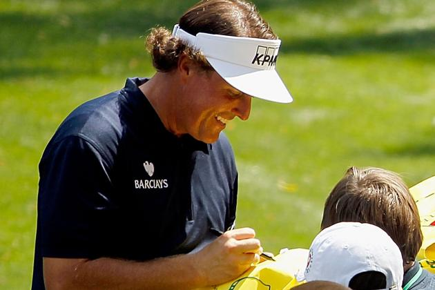 Masters 2012: Phil Mickelson's Grades Through 2 Rounds